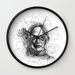 The Mockingjay Lives Wall Clock