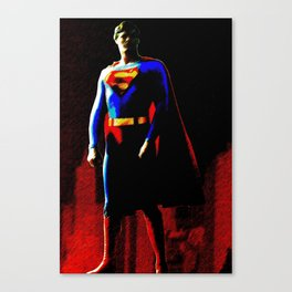 The Last Son Of Krypton Canvas Print