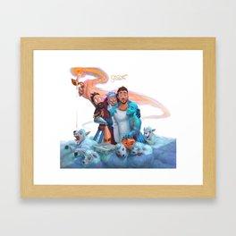 jon bellion growth tour 2019 simukasama Framed Art Print