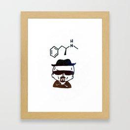 Breaking Bad Heisenberg Framed Art Print