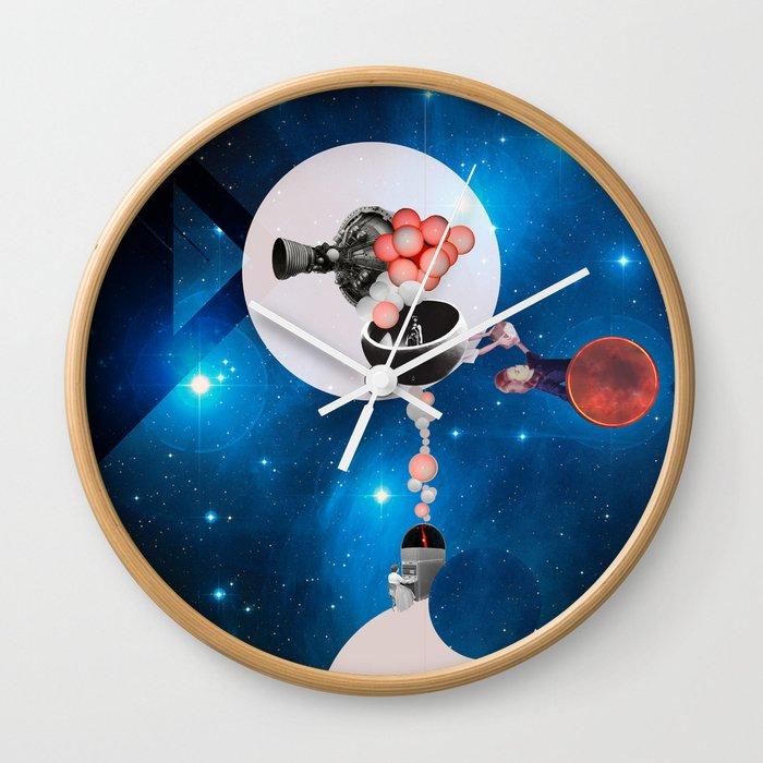 Space Flight Wall Clock