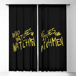 Who watches the watchmen Blackout Curtain
