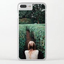 The Labyrinth Clear iPhone Case