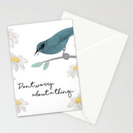 Three Little Birds, Part 1 Stationery Cards