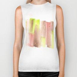 [161228] 17. Abstract Watercolour Color Study  |Watercolor Brush Stroke Biker Tank