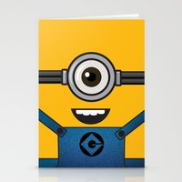 minion Stationery Cards featuring MINION! by Dee9922