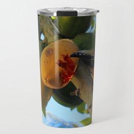 Toucanette and Papaya Travel Mug
