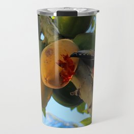 Toucanette and Papaya Travel Mug