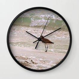 Sandpiper Aqua Tranquility Wall Clock