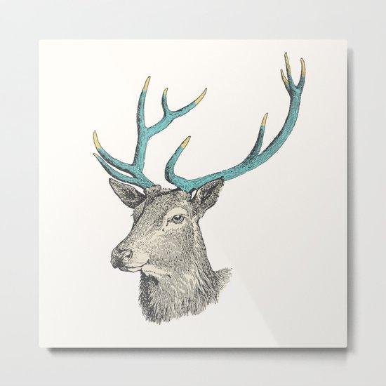 Party Animal - Deer Metal Print