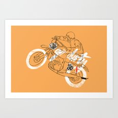 go dirty Art Print