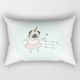 When i grow up Rectangular Pillow