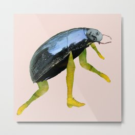 Mistress Beetle Metal Print
