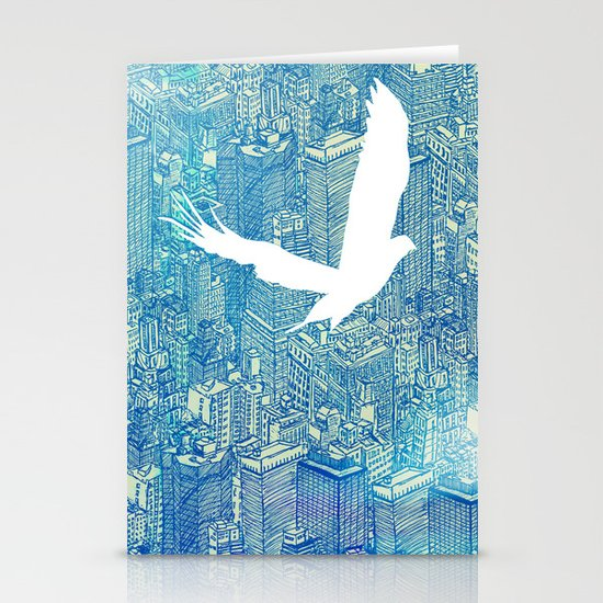 Ecotone (day) Stationery Cards