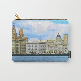 Liverpool Water Front Carry-All Pouch