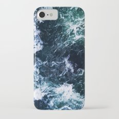 Wild ocean waves iPhone 7 Slim Case