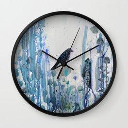l'heure bleue Wall Clock