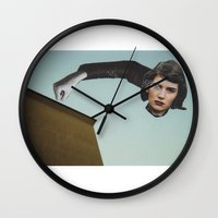 rothko Wall Clocks featuring Defi Rothko by Andy McFly