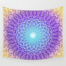 Follow the Light Mandala Wall Tapestry