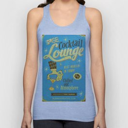 Rise Cocktail Lounge Unisex Tank Top
