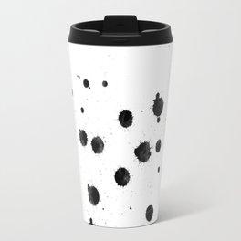 Asteroids Polka Dot Travel Mug
