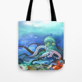 Illuminated Depth Tote Bag