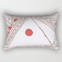 PowerLines 5 Rectangular Pillow