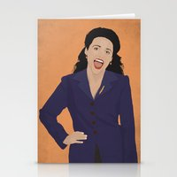 seinfeld Stationery Cards featuring Elaine Benes // Seinfeld // Graphic Design by Dick Smith Designs