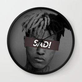 XXXTENTACION SAD! DESIGN Wall Clock