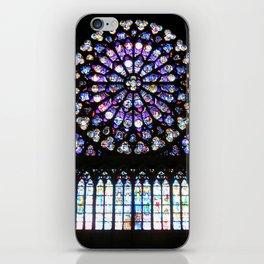 Window of Notre Dame. iPhone Skin