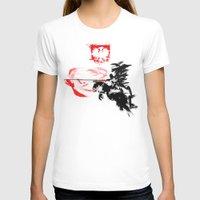 poland T-shirts featuring Polish Hussar - Poland - Polska Husaria by viva la revolucion