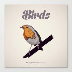 BIRDS 02 Canvas Print