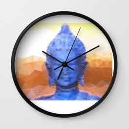 Mistic Buddha  Wall Clock