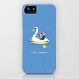 Romantic date iPhone Case