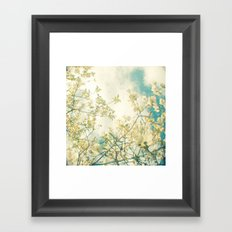 Clusters in the Sky Framed Art Print