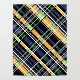 Striped pattern Poster