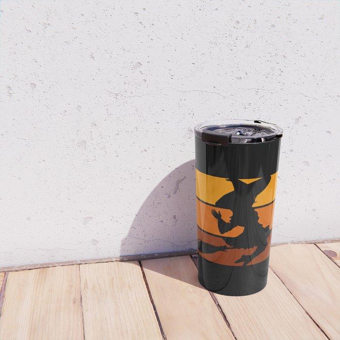 Witch - Orange Travel Mug