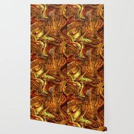 Citrine terrazzo Wallpaper