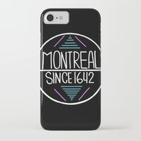 montreal iPhone & iPod Cases featuring Montreal by Aurelie
