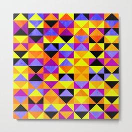 Triangles II Metal Print