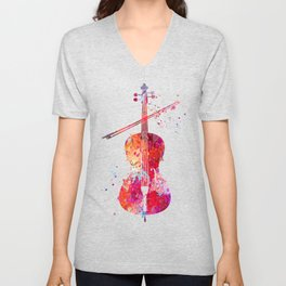 Cello Unisex V-Neck
