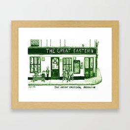 The Great Eastern, Brighton Framed Art Print