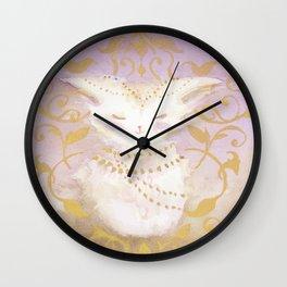 Camellia Bliss Wall Clock