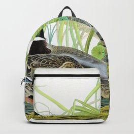 Mallard Ducks - John James Audubon Backpack