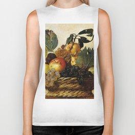 "Michelangelo Merisi da Caravaggio ""Basket of Fruit"" Biker Tank"