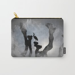 Heron in backlight Carry-All Pouch