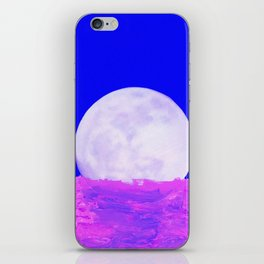 blu moon iPhone Skin