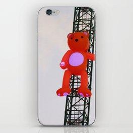 High There Bear iPhone Skin