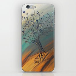 Roots Blazing iPhone Skin