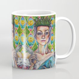 Asparagus Queen (Model: Emery Allen) Coffee Mug